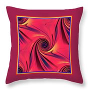 Pinch And Twist   5 Throw Pillow