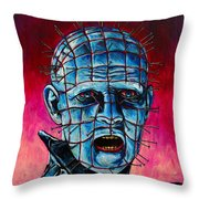 Pinhead Hellraiser Throw Pillow