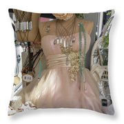 Pink Lady Series 01 Throw Pillow