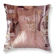 Pink Lady Series 03 Throw Pillow
