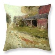 Pipersville Farm Throw Pillow