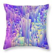Pixie Forest Throw Pillow
