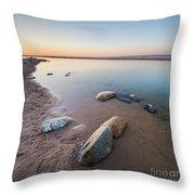 Platte River Square Throw Pillow