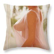 Playboy, Miss March 1967 Throw Pillow
