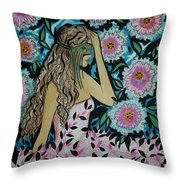 Pleasant Dreams  Throw Pillow