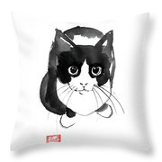 Plongee Throw Pillow