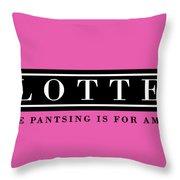 Plotter Throw Pillow