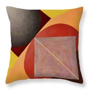 Point Line And Plane Throw Pillow