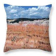 Point Supreme Overlook - Cedar Breaks - Utah  Throw Pillow