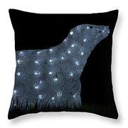 Polar Bear Decoration Throw Pillow