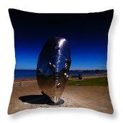 Polarised Mussel Throw Pillow