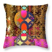 Pompoms At The Gate Throw Pillow