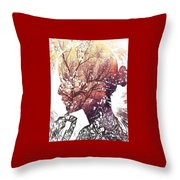 Pondering Fall Throw Pillow