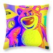 Pop Art Preschool  Throw Pillow