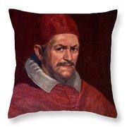 Pope Innocent X Throw Pillow