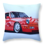 Porsche 964  Throw Pillow