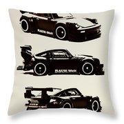 Porsche Rwb 930 Throw Pillow