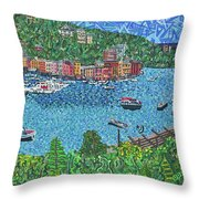 Portofino, Italy 2 Throw Pillow