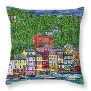 Portofino, Italy Throw Pillow