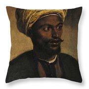 Portrait Of An Arab Throw Pillow