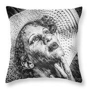 Portrait Of Kate Throw Pillow