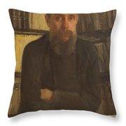 Portrait Of Kostichev Throw Pillow