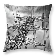 Power Tower No. 3 Throw Pillow