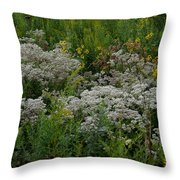 Prairie Bouquet  Throw Pillow