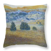 Prairie Realm Of West Dakota Throw Pillow