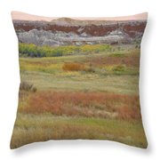 Prairie Reverie On The Western Edge Throw Pillow