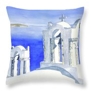 Praise The Lord Throw Pillow by Rich Stedman