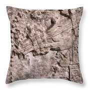 Pre Columbian Machine Gun Throw Pillow