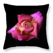 Prelude To A Rose Throw Pillow
