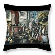 Preservation Hall Jazz Band Throw Pillow