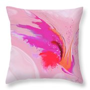 Primavera Throw Pillow by Gina Harrison