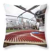 Pritzker Pavilion - Millennium Park Throw Pillow