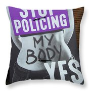 Pro Women's Rights Throw Pillow