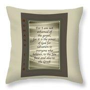 Proclaim 1 16 Throw Pillow