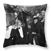 Prohibition Ends Drink Up Throw Pillow