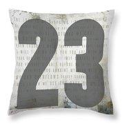 Psalm 23 Throw Pillow