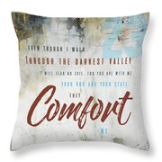 Psalm 23 Comfort Throw Pillow