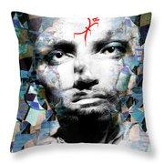 Psychosis Warrior 1141 Throw Pillow