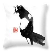 Pukistal Throw Pillow