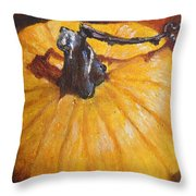 Pumpkin Delight Throw Pillow