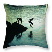 Pure Happiness Throw Pillow