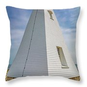 Pyramid Bell Tower Maine Throw Pillow