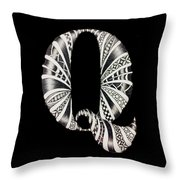 Q Throw Pillow
