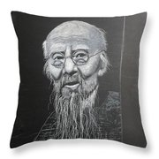 Qi Baishi Throw Pillow by Richard Le Page