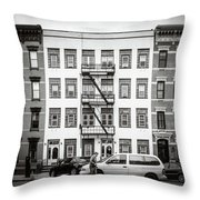 quick delivery BW Throw Pillow