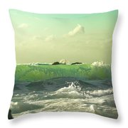 Quiet Before The Storm Throw Pillow